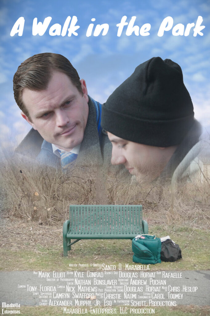 A Walk in the Park short film poster